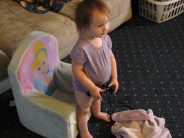 I plays playstation by Wonderdyke-Stock