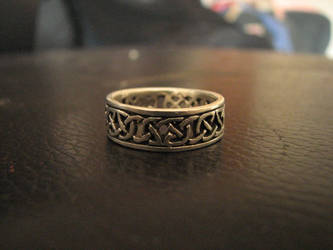Celtic Ring by Wonderdyke-Stock