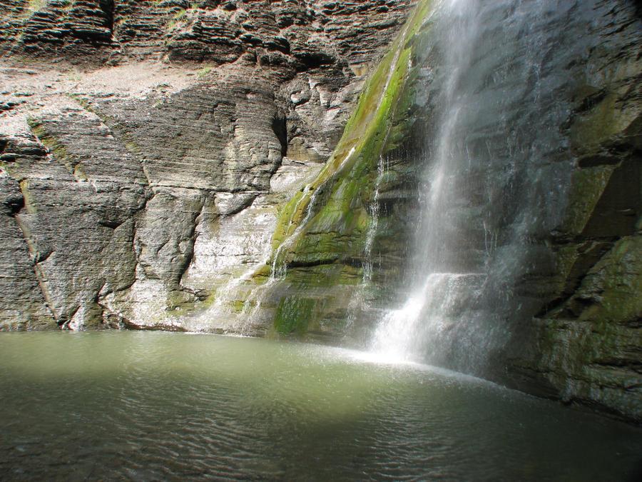 Waterfall Preview by Wonderdyke-Stock