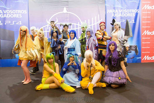 Pokemon gijinka group