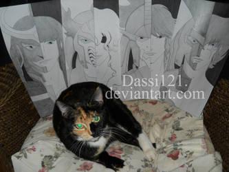 Glitter and my 4 Masho part 2 by Dassi121