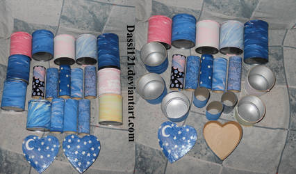 From trash to treasure - containers and rolls