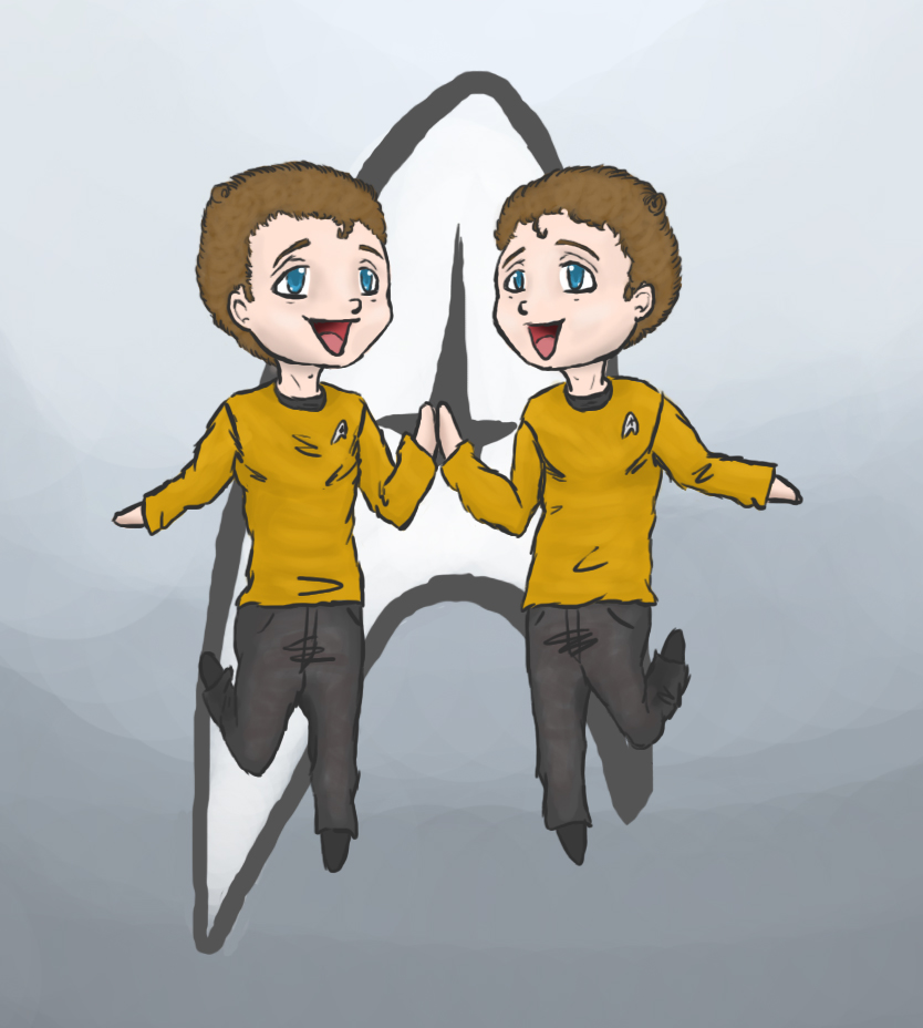 Chekov Twins by wiing-it