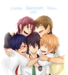 Happy Birthday, Haru by Hirorinchan