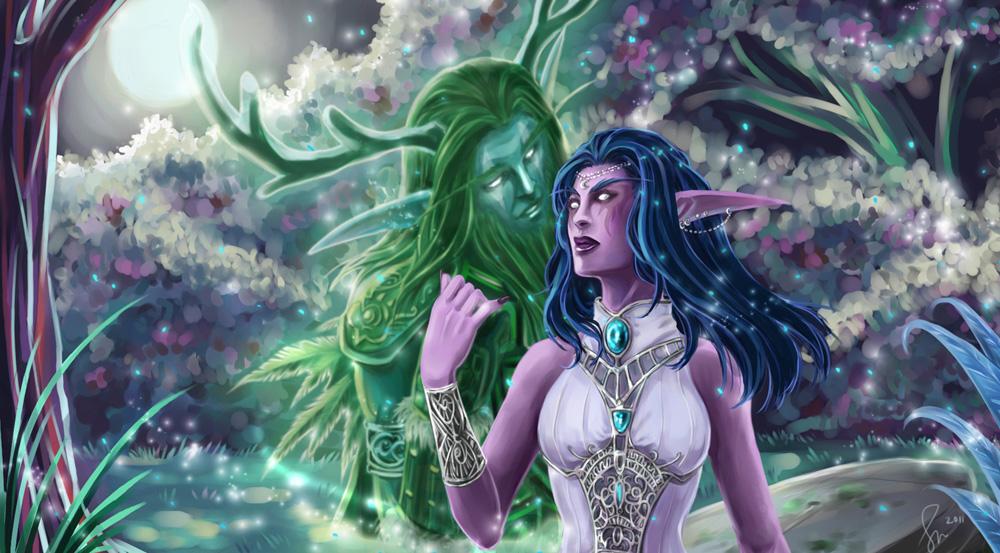 Warcraft: My Heart Sleeps by fenikkusu