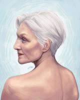Portrait Study by jinkoart