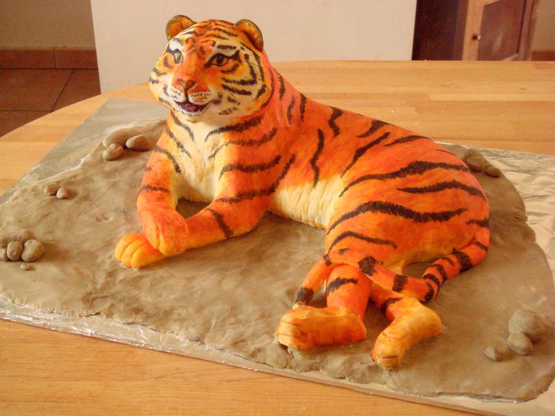 Сделать своими рукам тигра 99