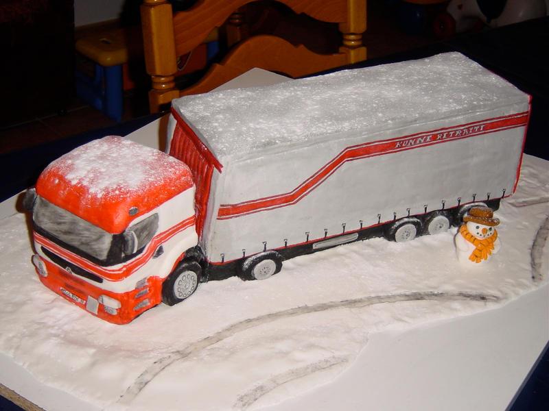 Lorry Cake Ideas