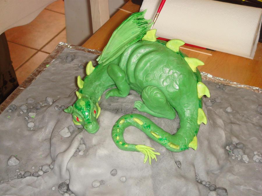 Green Dragon by Shoshannah84
