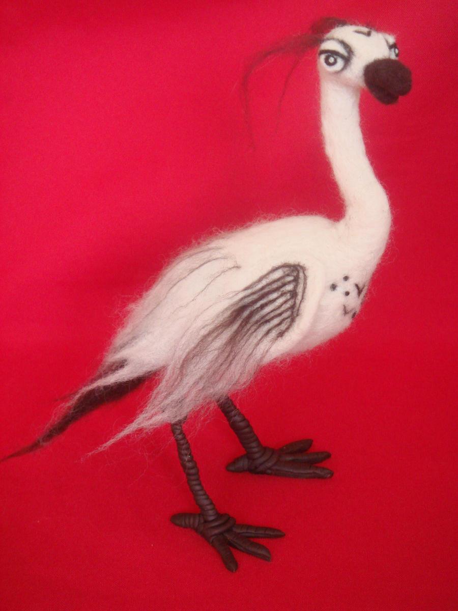 Silly leggy birdy by Shoshannah84