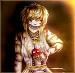 Humanized Nightmare Chica + Speedpaint