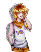 .:FNaF AT : Male!Chica :. by AilurophileChan