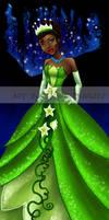 Tiana: The Frog Princess by JunebugHardee
