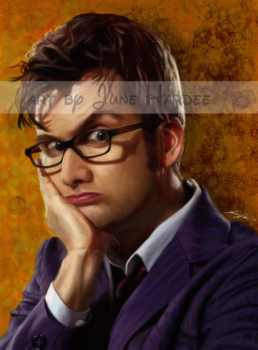David Tennant Colored by JunebugHardee