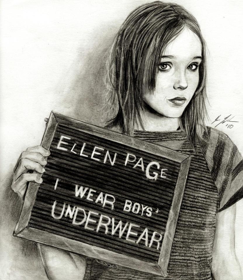 Ellen Page2 by JunebugHardee