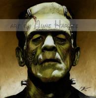 Frankenstein's Monster Colored by JunebugHardee