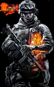 Battlefield 3 Render