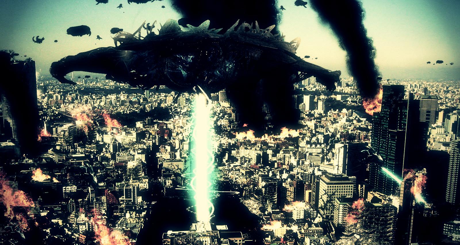 Alien Invasion by stiannius
