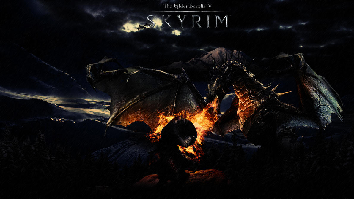 Skyrim Wallpaper By Stiannius On DeviantArt