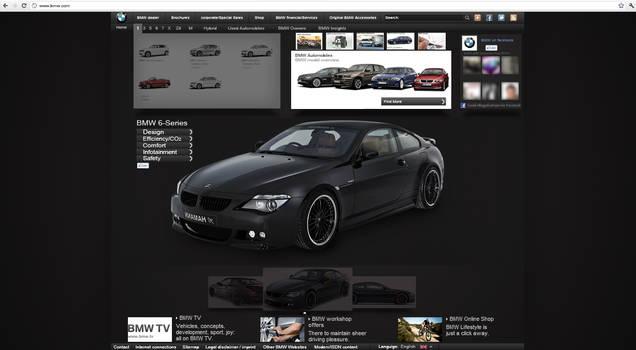 BWM Web Interface Design