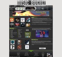 Music Bucket Layout Design