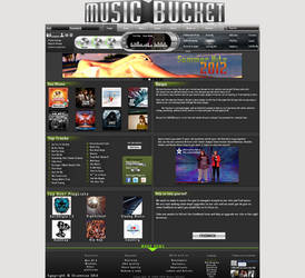 Music Bucket Layout Design