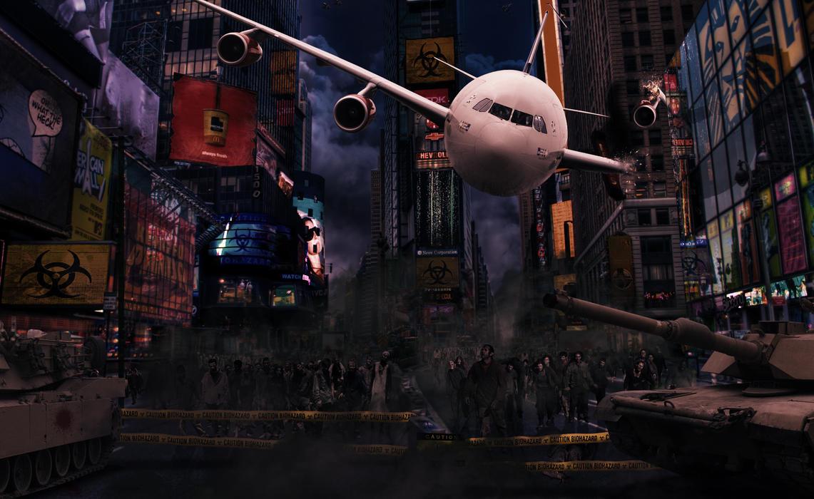 Zombie Apocalypse by stiannius