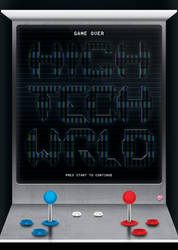 High Tech World - Typographic Poster