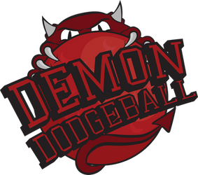 Logo: Demon Dodgeball