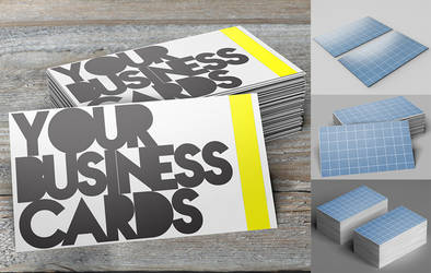 FREE: Business Card Mockups
