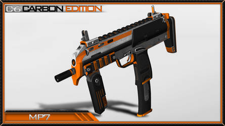 Counter Strike Global Offensive: MP7 Paint Job