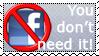 forbidden facebook Stamp by lxddbl