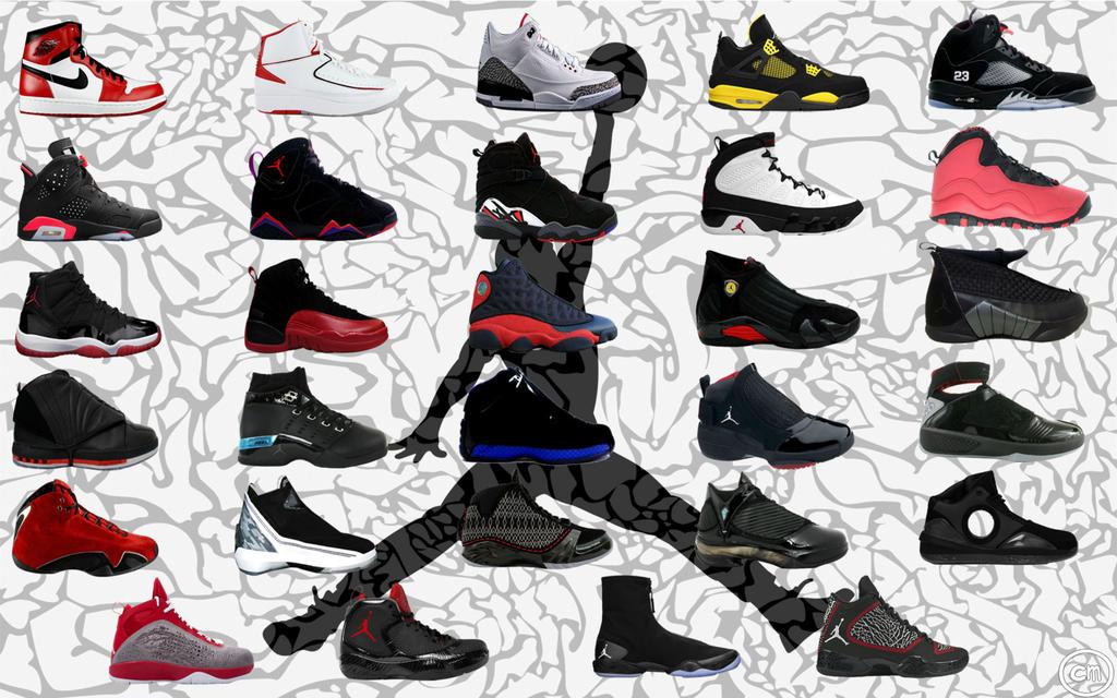 Air Jordan Shoes In Order