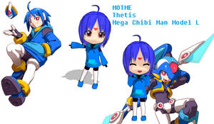 MOTME Mega Chibi Man Model L Thetis!