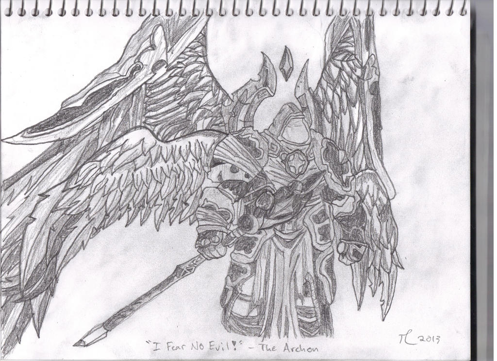 Darksiders Archon The Archon Lucien by