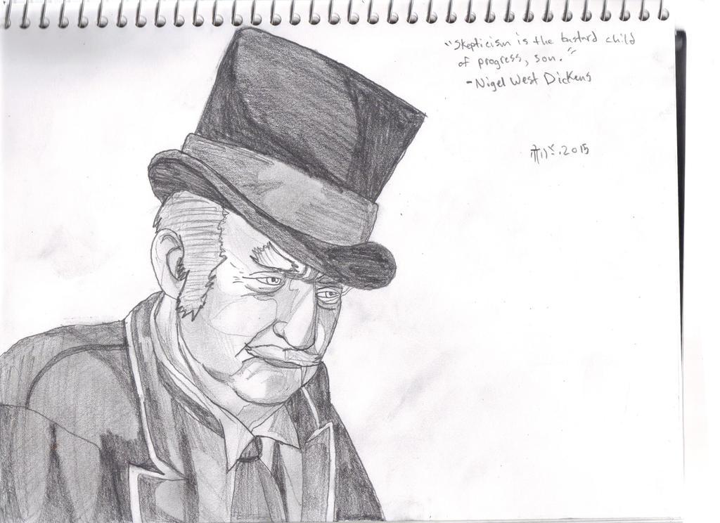 Nigel West Dickens by Pythagasaurus