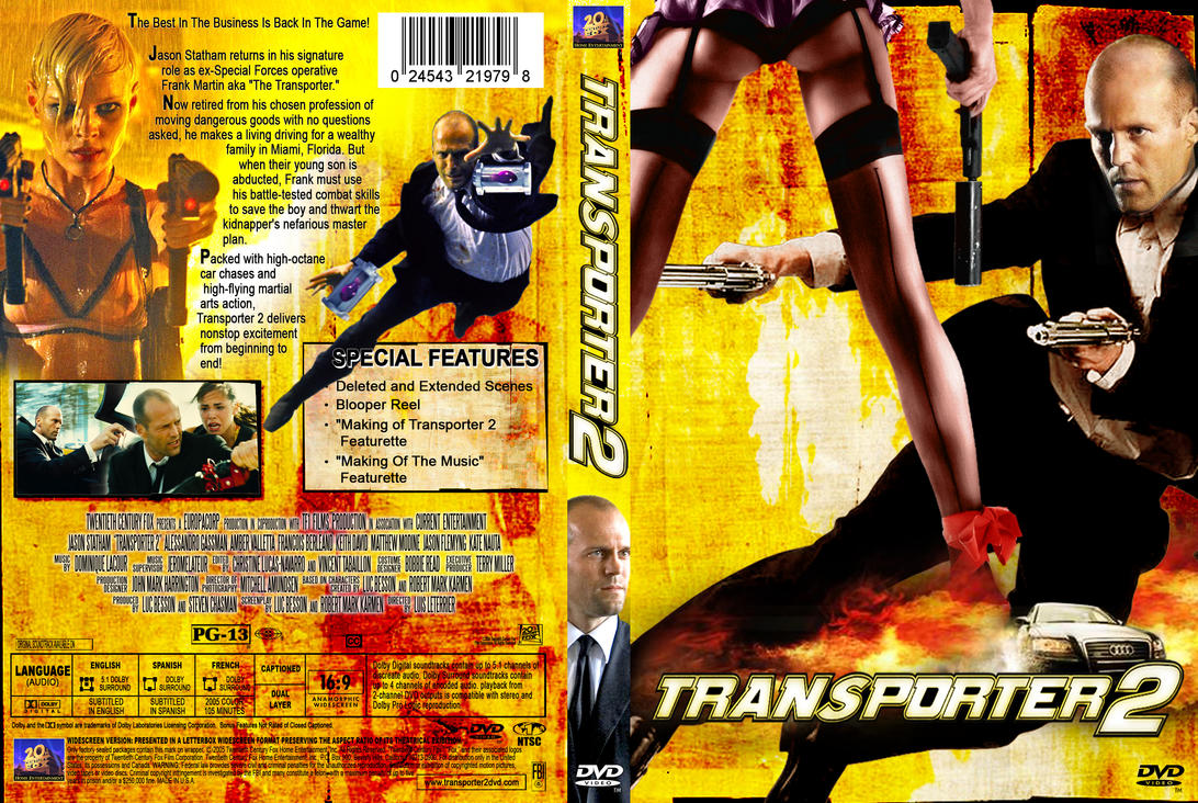 The Transporter 2 | DVD Covers, BluRay Covers, and Cover art |Transporter 2 Dvd Cover