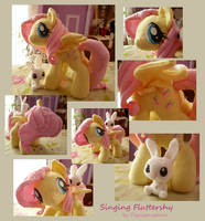 Fluttershy views by Piquipauparro