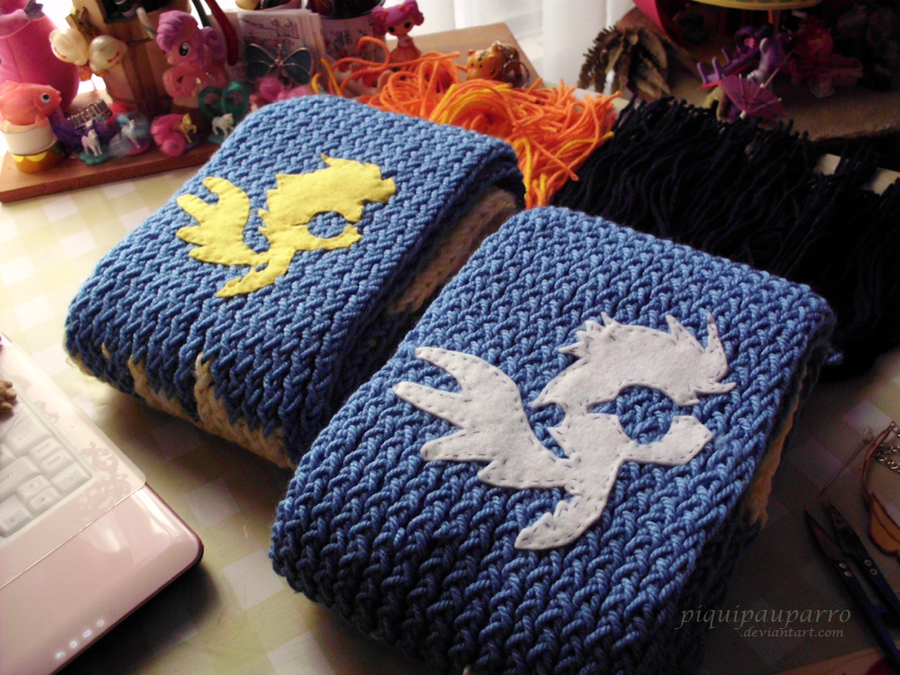Wonderbolts Scarfs by Piquipauparro