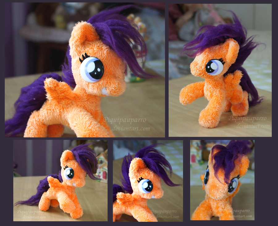 Scootaloo, little filly - handmade by Piquipauparro