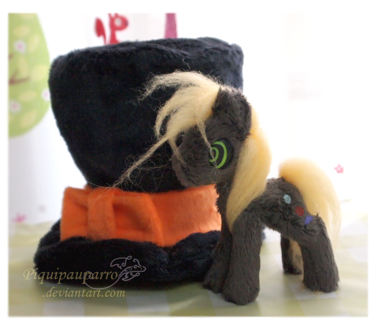 4inch OC Pony - Handmade plush by Piquipauparro