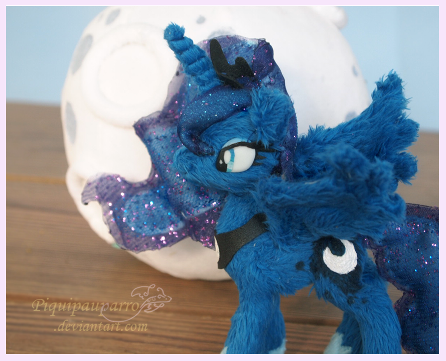 Princess Luna - 5inch handmade plush by Piquipauparro