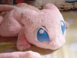 Mew - Handmade Plushie
