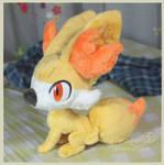 Fennekin - Handmade plush