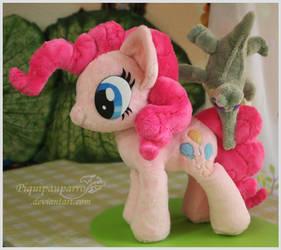 Pinkie n Gummy - Hand made plushies