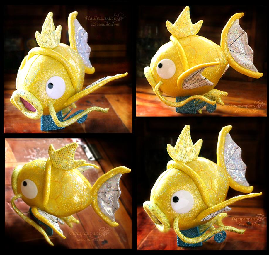 Shiny -Holografic- Magikarp plush by Piquipauparro