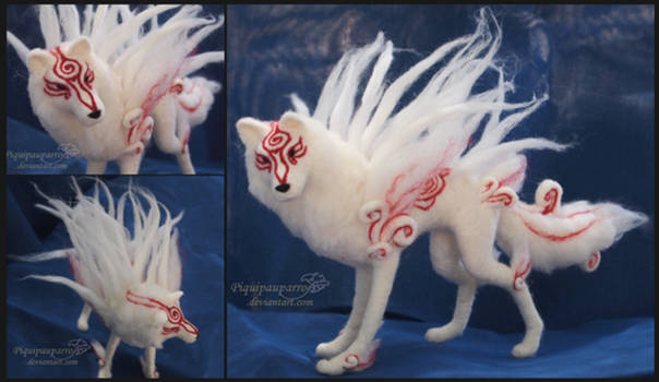 Shiranui - Needle felted figure