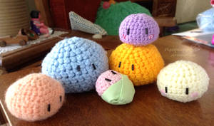 Crochet -- Dango Daikazoku