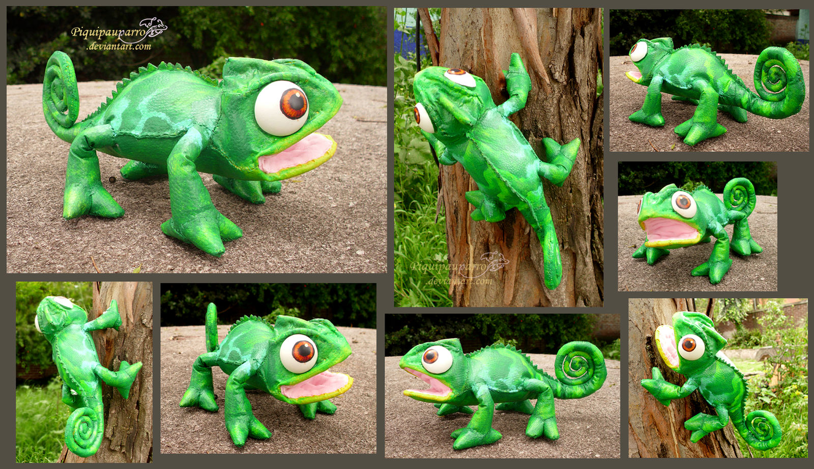 Pascal - handmade posable doll