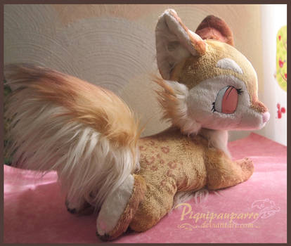 Fursona plushie - Custom made